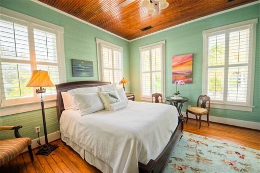 Ophelia's Suite at Beach View Bed and Breakfast in Tybee Island, GA