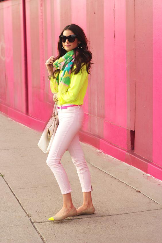 Pink Peonies: Neon+Pastel...