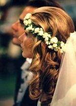 Photos coiffure de mariage pour la mariée