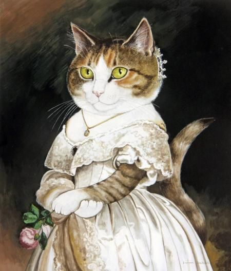 Image result for queen victoria cats