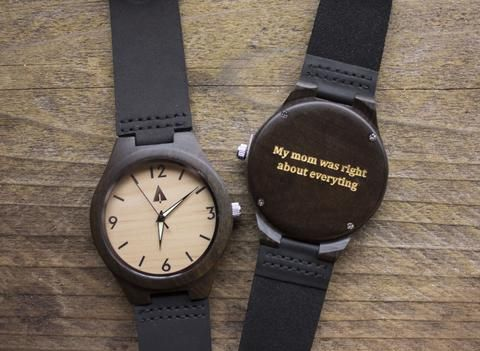 Top 50 Engraving Ideas For Your Son Personalized Gifts Leather Watch Gifts