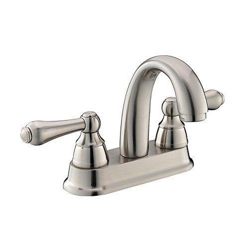 UFaucet Modern Brushed Nickel Steel Bathroom Lavatory Vanity Basin Vessel Sink Faucet, Brushed Nickel Ufaucet http://www.amazon.com/dp/B00YBJNOX6/ref=cm_sw_r_pi_dp_8ybQwb0VXE410