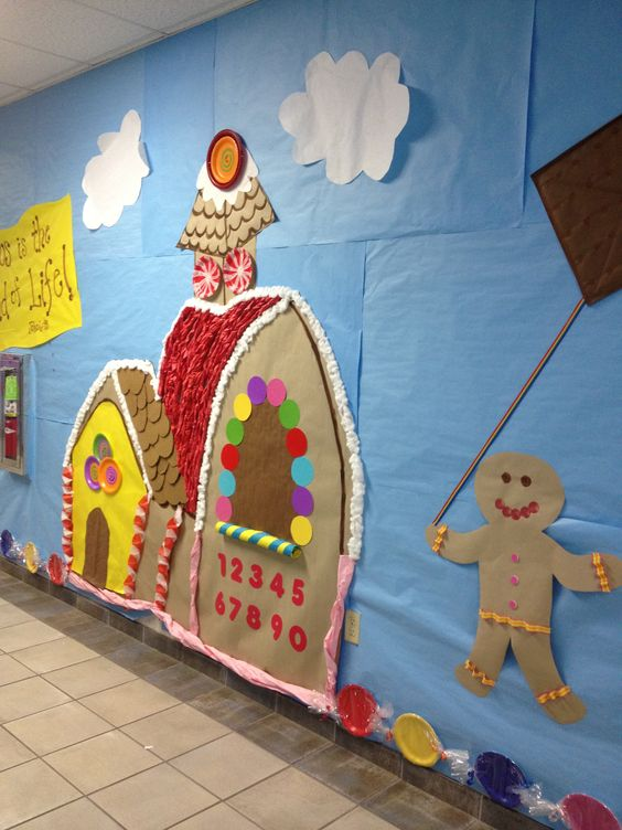 Craft Ideas For Classroom Decoration : Candyland themed classroom decorations