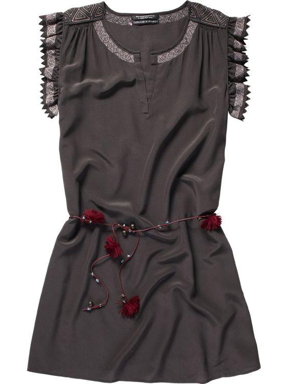 Silk dress - Scotch & Soda