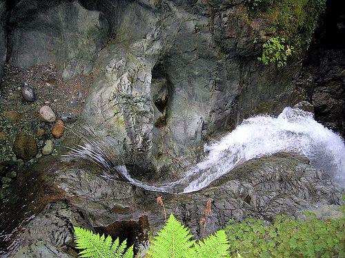 Waterfall at Lynn Canyon Park - Vancouver