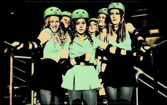 Whip It. Love this movie... roller derby anyone!?!