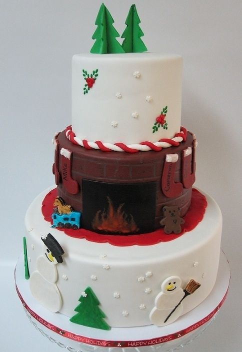 Christmas Cake Filling Ideas : Pinterest   The world s catalog of ideas