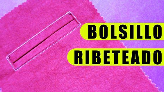 Los bolsillos ribeteados también se los conoce como bolsillos de ojal sastre o bolsillos ojal militar. A la vista, lucen como un ojal terminado con dos ribet...