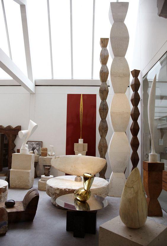 atelier brancusi leslie williamson objects pinterest constantin brancusi atelier and paris. Black Bedroom Furniture Sets. Home Design Ideas