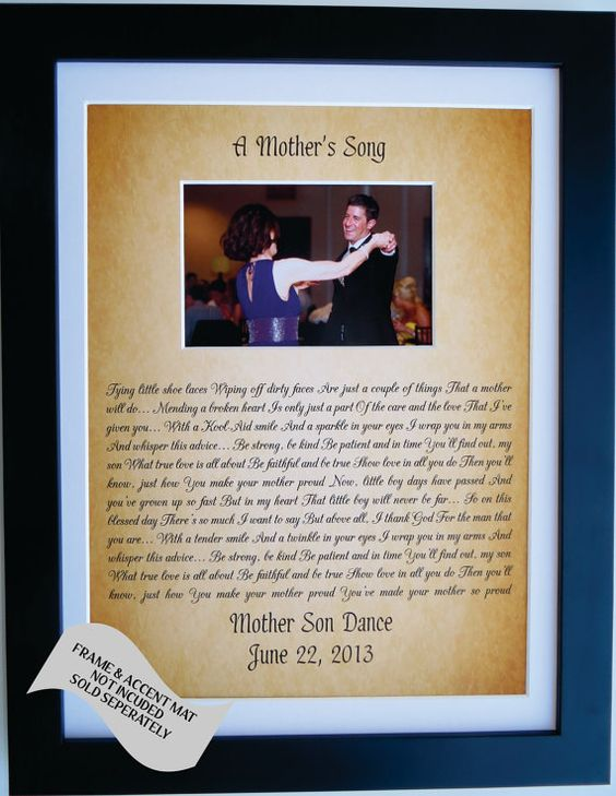 Wedding Gift From Parents To Son : Personalized Gift For Son From Mother To Groom From by Picmats