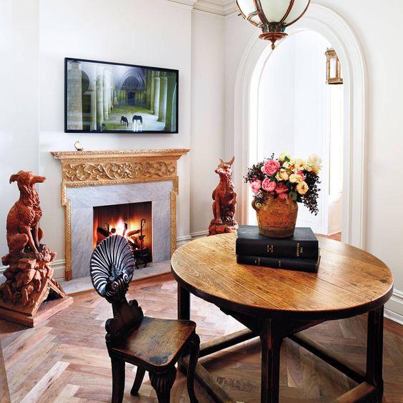 Glen Senk and Keith Johnson's elegant Manhattan townhouse  Read more: See Glen Senk and Keith Johnson's Manhattan townhouse - Chic Decorating Ideas - Harper's BAZAAR  Follow us: @Kerry Pieri on Twitter | HarpersBazaar on Facebook  Visit us at HarpersBAZAAR.com
