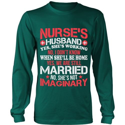 NURSES HUSBAND - LONG SLEEVE SHIRT