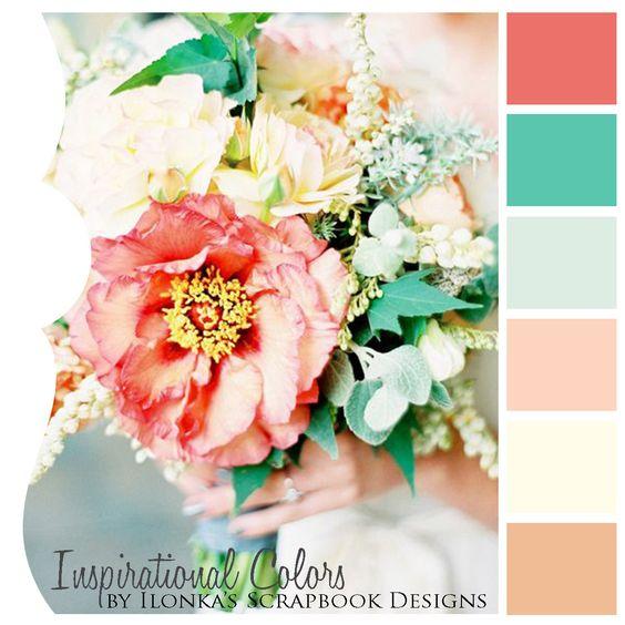 Inspirational Colors by Ilonka's Scrapbook Designs: Color Inspiration 878
