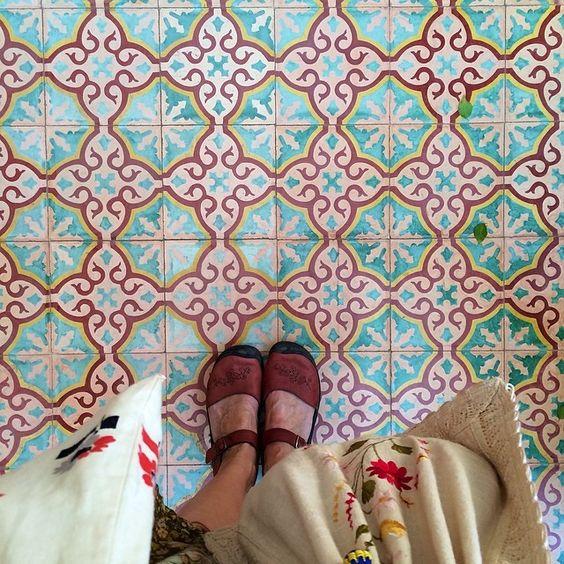 Moroccan tile - Dottie Angel IG