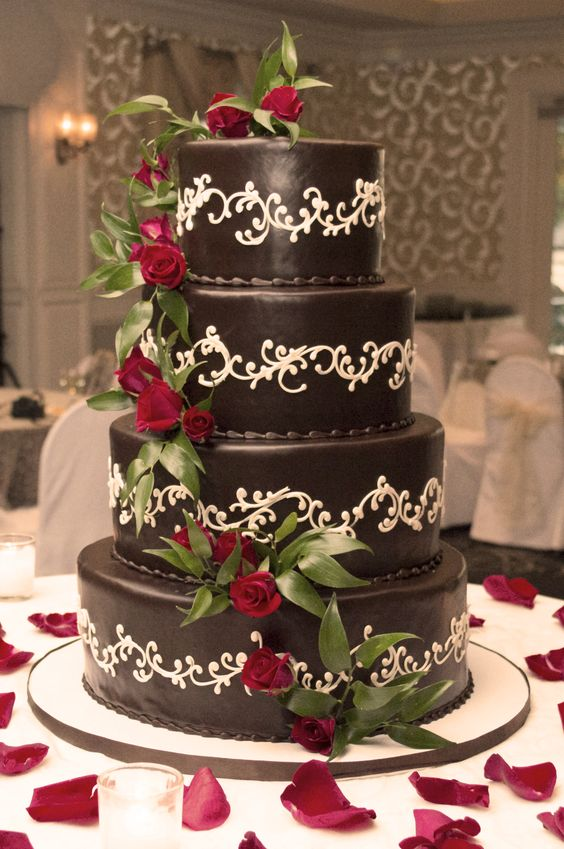 german wedding cakes shelby s wedding cake german chocolate cake roses 14676