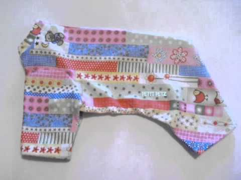 patrones- ropa- perros-pijama-mascota-dogs-patterns. - YouTube