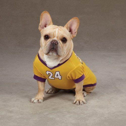 Small/Medium #24 Kobe Bryant Dog Jersey La Lakers NBA Pet Puppy ...