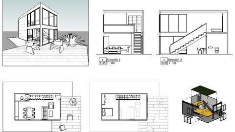 Curso Iniciaci N Al Bim Y Modelado De Arquitectura Con Revit Learn Revit Design Floor Plans