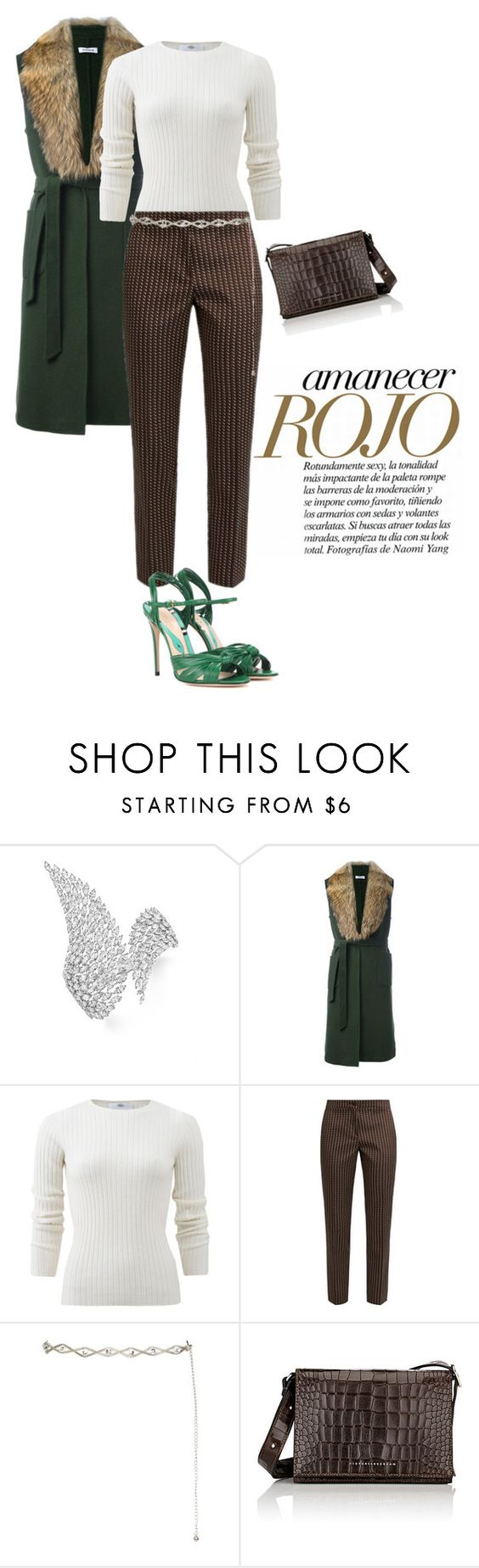 """""""Без названия #874"""" by marina-smile-nazarenko ❤ liked on Polyvore featuring Messika, P.A.R.O.S.H., Allude, Etro, Victoria Beckham and Gucci"""