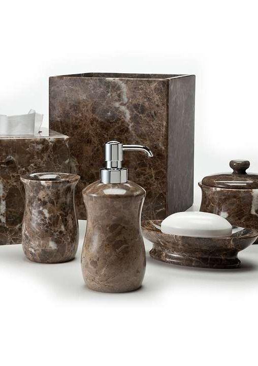 Handcrafted in italy the labrazel emperador bath for Master bath accessories