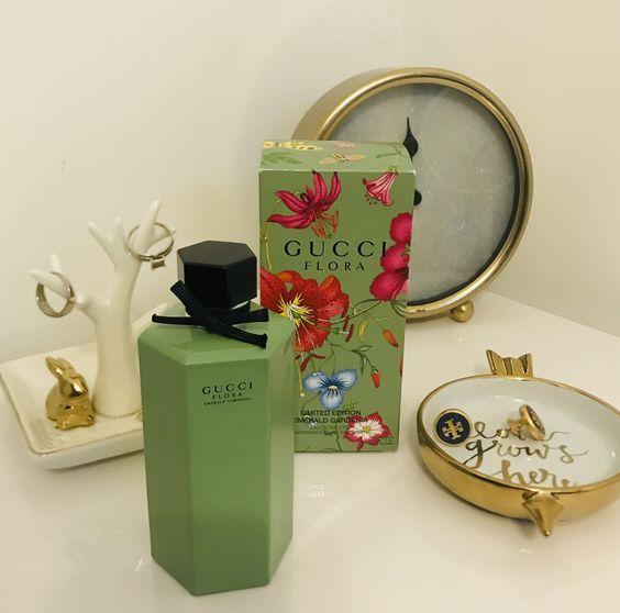 غوتشي فلورا إميرالد غاردينيا ماء تواليت Gucci Flora Emerald Gardenia Eau De Toilette عطر العطر Flora Gucci Flora Gardenia