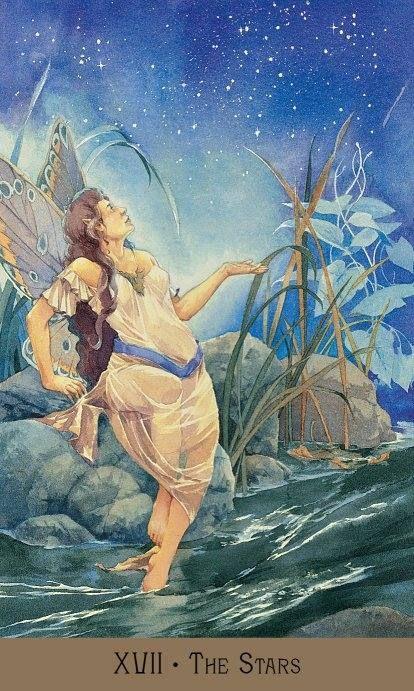 Victorian Fairy Tarot - The Stars