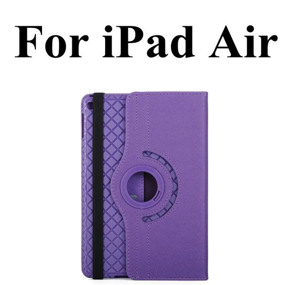 For iPad Air Case 360 Rotating Luxury Smart PU Leather Stand Tablet Case For iPad Air 2 Case w/ Photo Frame For iPad 2 3 4 Case