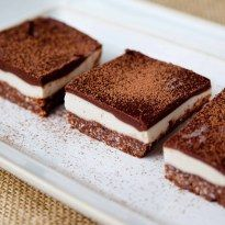 Nanaimo Bars with Vanilla Cashew Custard (Raw,Vegan, Paleo, Dairy-Free) | living nutrition