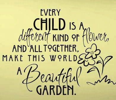 Disability Awareness. This would be a great saying to put on a poster with a flower crafted by each student