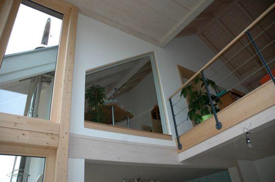 Innenausbau Haus, Innenausbau Ideen, Innenausbau Modern - wohnzimmer mit galerie modern
