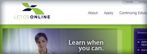 LCTCSOnline // Brand development, website design, website content and custom content management system integration.