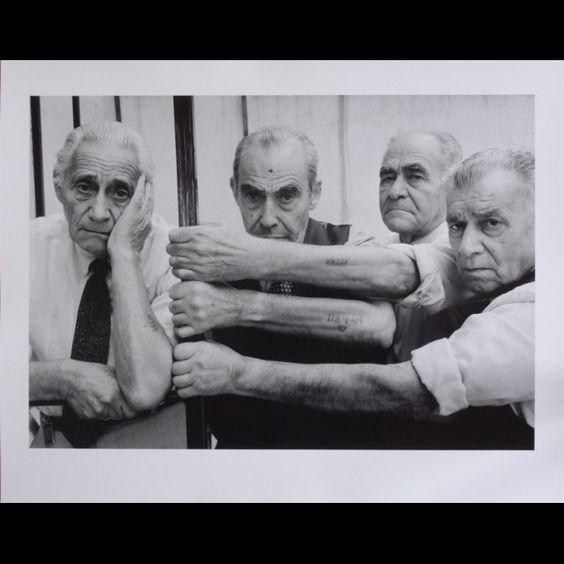 frederic-brenner : survivants de salonique grece