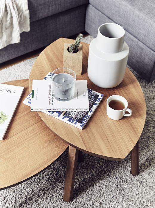 Arbeits Wohnzimmer Kombinieren Ikeadeutschlandweihnachten Ikea Deutschland Stockholm Satztische In Nussbau In 2020 Wohnzimmertische Ikea Beistelltisch Satztische