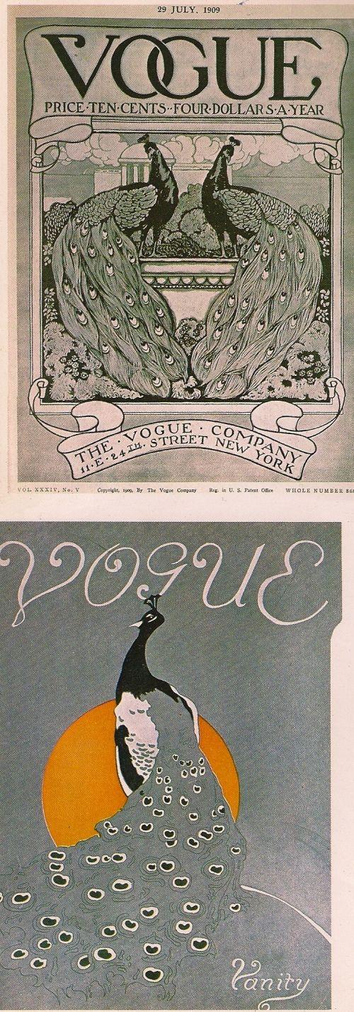 Vogue magazine; February 19, 1909: