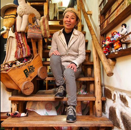 Miki Suzuki, Pedazo de Arte - art and handicraft shop in Cusco, Perou