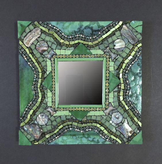 Mosaic Mirrors - Barbara Wright Mosaic Art