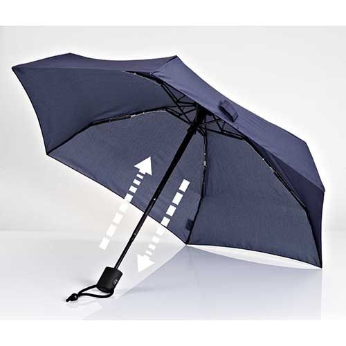 Dainty Automatic Umbrella, Navy Blue