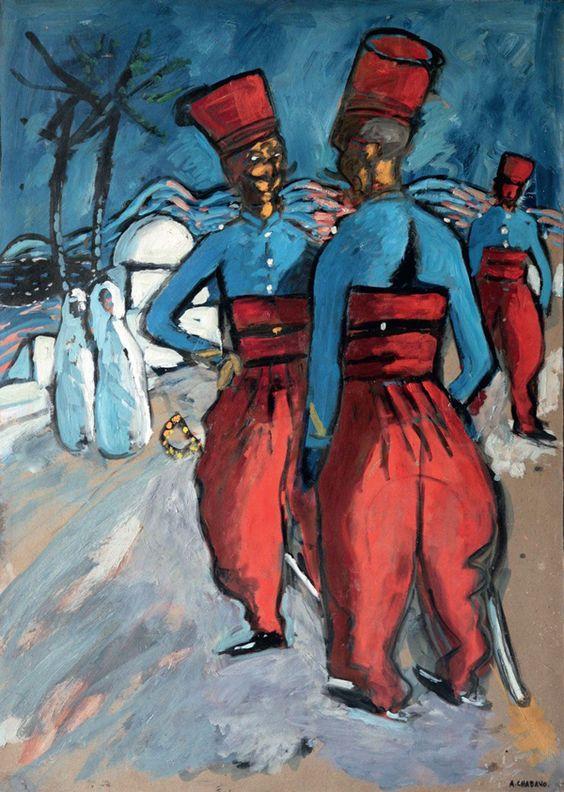 Exposition graveson l 39 orient de chabaud recherche for Auguste chabaud cote