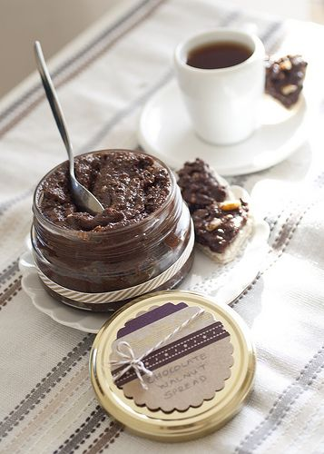 Homemade Chocolate Walnut Spread