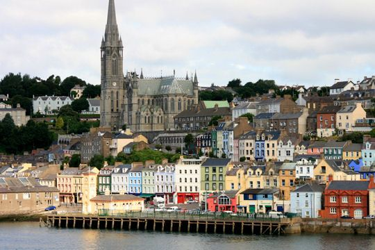 Le port coloré de Cork en Irlande