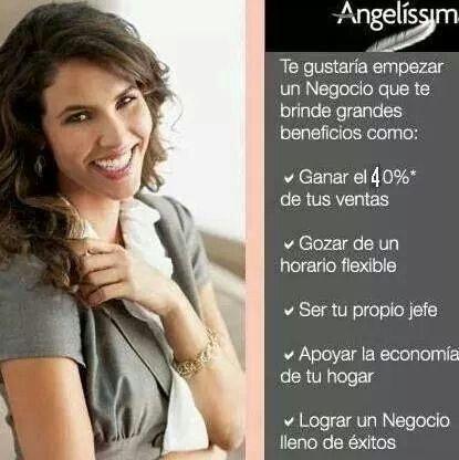 INICIA Y CREA TU PROPIA EMPRESA.  ASESORÍA Y VENTAS  CONTACTAME.  angelinissima91@gmail.co