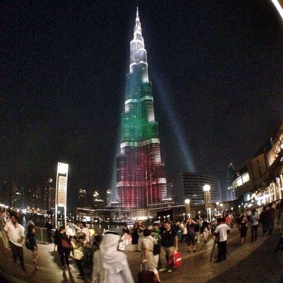 #burjkhalifa #Dubai #National day celebration #Emirates #flag #DubaiMall #Mall #DownTown