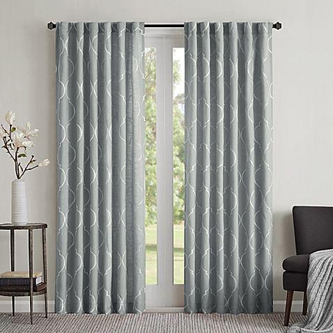 Regency Heights Lexi Rod Pocket Window Curtain Panel | curtains ...