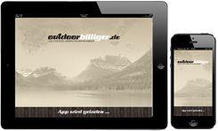 OutdoorShop outdoorbilliger als APP auf dem Iphone und Ipad von Apple, IOS. Kaufen Sie einfach mobil Ihre Outdoor-Artikel. Outdoobekleidung, Outdoorzubehör, Spearfishing, Harpunen, Schwimmen, Triathlon, Wassersport, Badeinseln, Towables, Wasserski, Wakeboards, Kajaks, Paddelzubehör, Hüpfburgen, Tampoine und vieles mehr.