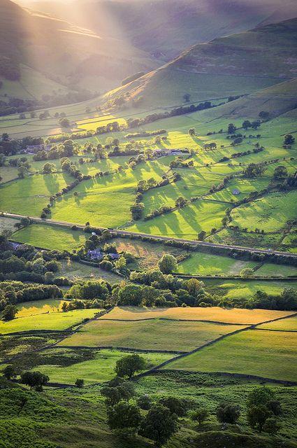 Edale, Derbyshire, UK so beautiful