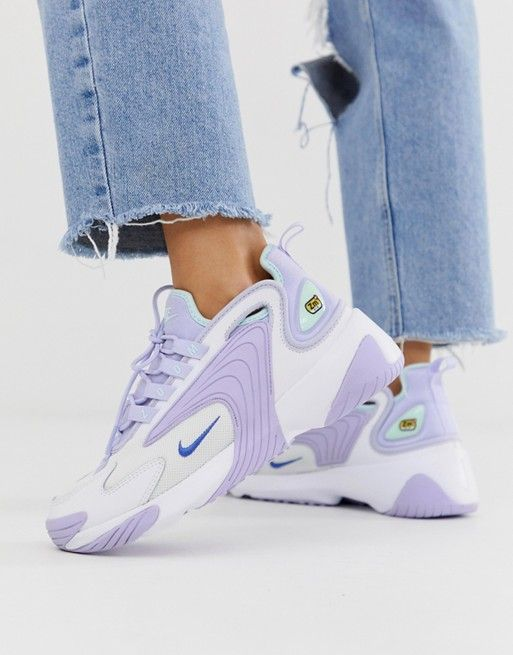 Nike Lilac Zoom 2K Trainers | style in 2019 | Sneakers