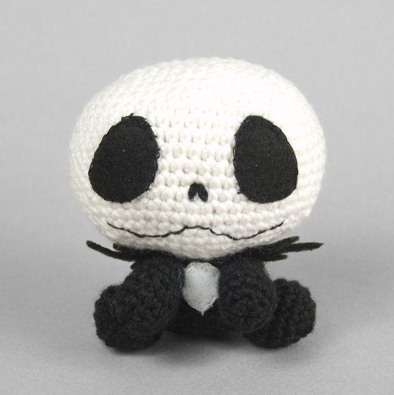 Free Crochet Pattern Of Jack Skellington : Pinterest The world s catalog of ideas