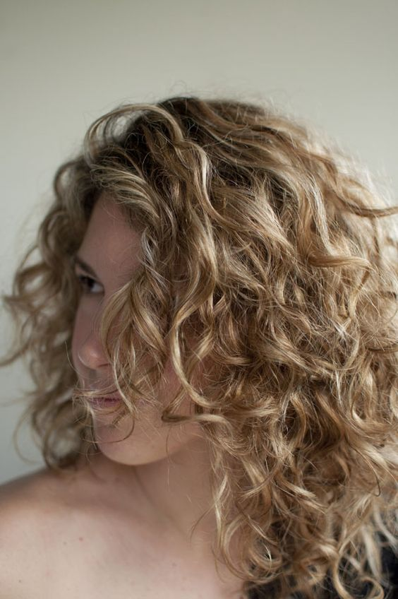 How to get curly hair to stay down-7274