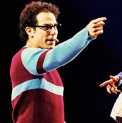 """Skylar Astin as Mark Cohen in the musical """"RENT""""  God, he's talented!"""