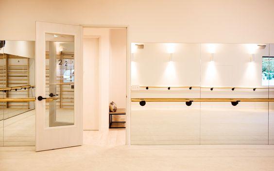 Bar Method, Lake Oswego OR, Modern studio design, white and black, Design and Construction by Emmett Phair, Design-Build